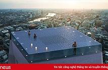 Làm sao để ra vào cái bể bơi chọc trời này? Dân mạng có câu trả lời sáng tạo cho bạn đây