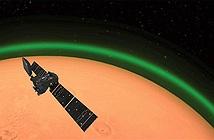 Bí ẩn về dải sáng xanh trên sao Hỏa
