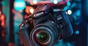 Canon EOS 850D – Chiếc máy ảnh DSLR bán chuyên nhỏ gọn giá 29,48 triệu