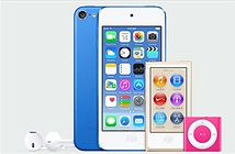 iPod touch thêm bản gold 128GB, camera 8 chấm