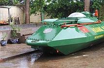 Hoàng Sa của doanh nhân Thái Bình là tàu ngầm hay tàu lặn?