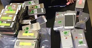 Bắt giữ hơn 200 chiếc điện thoại iPhone, Samsung nhập lậu