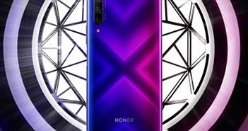 Honor 9X tỏa sáng trong hình ảnh chính thức kèm thông số kỹ thuật