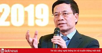 """Bộ trưởng Nguyễn Mạnh Hùng: """"Nếu người Việt chưa mua hàng Việt là do hàng hoá chất lượng chưa tốt hoặc tiếp thị chưa đúng"""""""