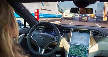 Xe ôtô điện tiêu hao nhiều điện năng hơn khi bật chế độ tự lái