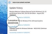 Nếu gặp vấn đề với Windows Store trên Windows 10, bạn nên tải về bản update mới nhất (KB3081438)