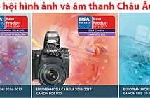 Tổng kết giải EISA 2016-2017 - Mục nhiếp ảnh: Canon, Sony thắng lớn và sự trỗi dậy của Fujifilm