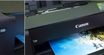 Trên tay & in thử ảnh khổ A2 bằng máy in Canon Pixma Pro-500