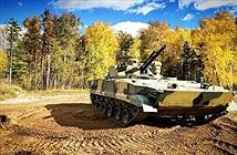 Tận mắt bộ xe bọc thép mới, khủng cho lính dù Nga