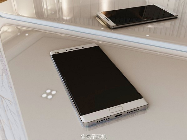 Ảnh mới về Xiaomi Mi Note 2: Camera kép, màn hình cong tuyệt đẹp