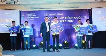 Samsung trao giải cho 21 thí sinh lập trình quốc tế