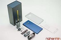 Mở hộp Galaxy Note 9: màu sắc nổi bật, bút S Pen đa dụng hơn, camera nhiều nâng cấp