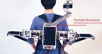 Cùng gặp anh chàng với 4 cánh tay, hai trong số đó được điều khiển từ xa bằng thực tế ảo