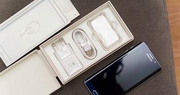 Đập hộp Galaxy S6 Edge+ chính hãng giá 19.990.000 đồng