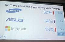 Samsung, Apple vẫn chia bánh trên thị trường Việt