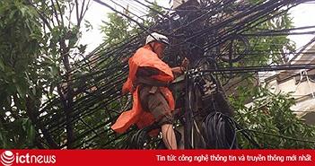 FPT đang khôi phục dần tín hiệu mạng Internet các khu vực bị ảnh hưởng bão số 10