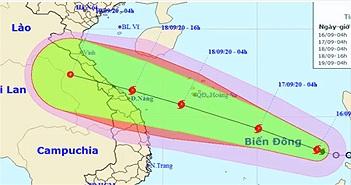 Áp thấp nhiệt đới mạnh lên thành bão số 5 - cơn bão Noul
