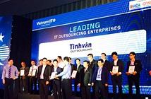 Tinhvan Outsourcing đạt danh hiệu Doanh nghiệp gia công CNTT hàng đầu Việt Nam 2015