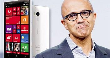 """CEO Microsoft: Windows Phone không """"có cửa"""" cạnh tranh với iOS và Android"""