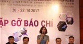 Triển lãm thiết bị biểu diễn chuyên nghiệp lần đầu tiên được tổ chức tại Hà Nội