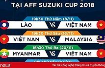 K+ phát sóng toàn bộ giải đấu AFF Cup 2018