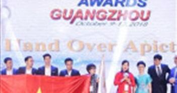 Giải thưởng APICTA 2019 sẽ được tổ chức tại Việt nam
