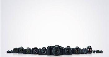 Canon vượt mốc 100 triệu máy ảnh dòng EOS