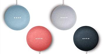 Google Nest Mini: nâng cấp vi xử lý, có móc treo tường, giá 49 USD