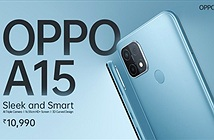 OPPO A15 ra mắt: Chip Helio P35, pin 4.230mAh, giá rẻ 149 USD
