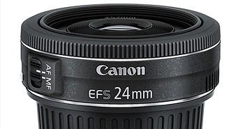 Amazon và Adorama mở bán ống kính Canon EF-S 24mm