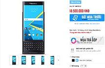 BlackBerry Priv chính hãng giá 18tr5, đặt hàng hôm nay và giao vào 30/11