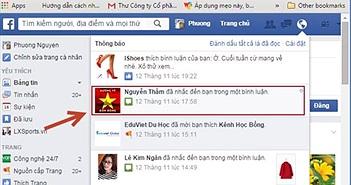 Phòng ngừa virus giả mạo thông báo mới xuất hiện trên Facebook