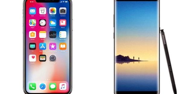 Bảo mật trên Galaxy Note 8 và iPhone X có gì đặc biệt?