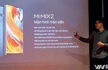 Xiaomi Mi MIX 2 chính hãng về Việt Nam: 6GB RAM, 64GB bộ nhớ trong, giá 13 triệu đồng