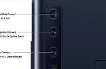 Samsung Galaxy A9 với 4 camera sau sắp lên kệ, giá 12,49 triệu đồng