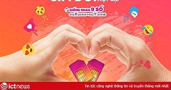 """Vietnamobile ra mắt SIM đôi """"Trời sinh một cặp"""", hai SIM giống nhau đến 9 số"""
