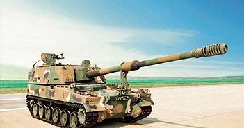 Quân đội Hàn Quốc nhận đủ pháo tự hành K9 Thunder