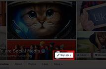Từ 1/1/2015, Facebook sẽ thêm 7  nút mới cho các Fanpage