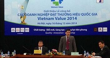 VNPT: doanh nghiệp viễn thông duy nhất đạt Thương hiệu quốc gia 2014
