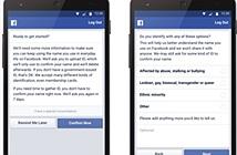 Facebook ra 2 thay đổi lớn liên quan đến chính sách dùng tên thật