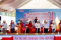 Khởi công xây dựng toà nhà điều hành và sản xuất phần mềm Quang Trung