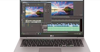LG tung laptop mới, pin khủng chạy cả ngày