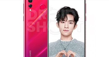 Huawei nova 4 chính thức xuất hiện hình ảnh kết xuất đồ họa