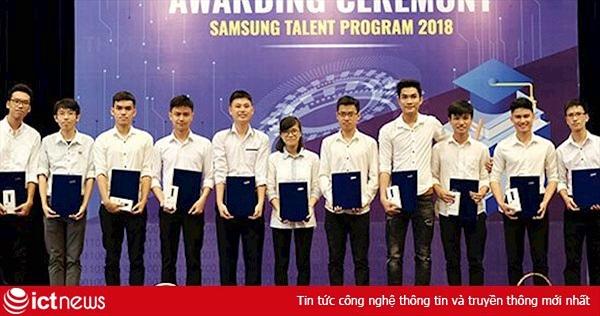 """Đã có 68 sinh viên PTIT nhận được học bổng """"Tài năng Samsung"""""""