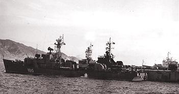 Ảnh hiếm tàu Petya Việt Nam khi còn làm chủ biển khơi