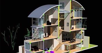 Những lưu ý về phong thủy khi xây nhà lệch tầng