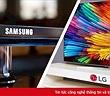 Samsung, LG dẫn đầu thị trường tivi toàn cầu