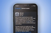 Apple ra mắt iOS 14.3: Kích hoạt chụp ảnh ProRAW, khắc phục sự cố tin nhắn