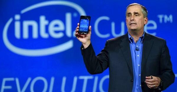 Năm 2014: Intel thất thu 4,2 tỉ USD do mảng di động
