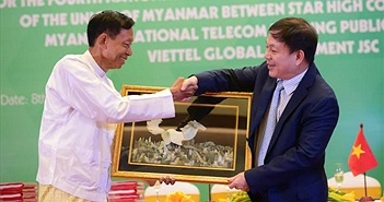 Nhận giấy phép tại Myanmar, Viettel chính thức đầu tư vào thị trường thứ 10